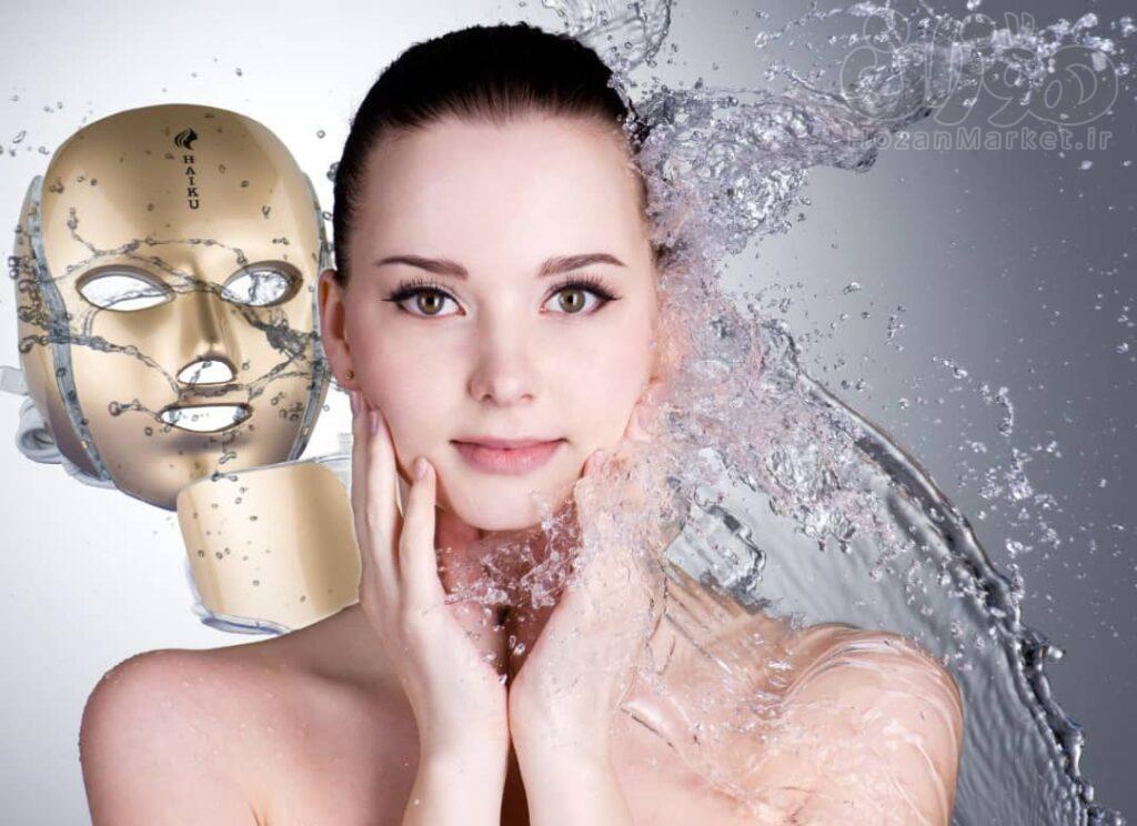 ماسک نقابی ال ای دی هایکو HAIKU